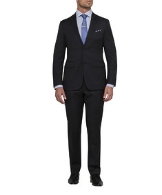 Men's Euro Fit Nested Suit Charcoal