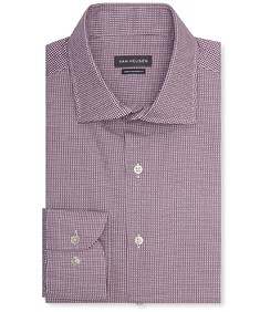 Euro Tailored Fit Shirt Grape Circle Print