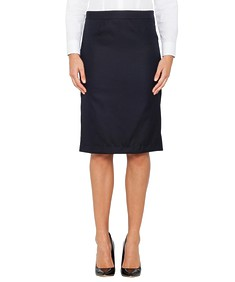 Womens European Fit Suit Skirt Ink