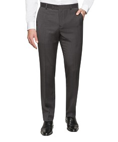 Euro Tailored Business Trouser Charcoal