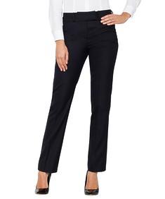 Womens European Fit Suit Pants Ink