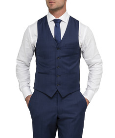 Men's Euro Fit Vest Solid Colour