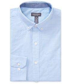 Never Tuck Slim Fit Long Sleeve Shirt Chambray