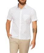 Never Tuck Slim Fit Short Sleeve Shirt Airplane Print