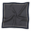 Men's Pocket Square Circle Print