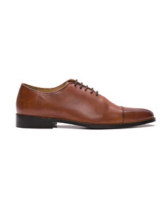 Shoe Oxford Plain Tan