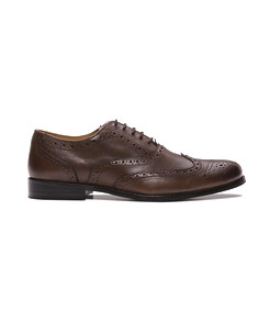Shoe Oxford Brogue Dark Chocolate