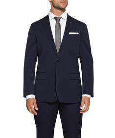 Classic Relaxed Fit Commuter Suit Jacket Ink
