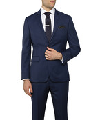Slim Fit Suit Jacket Ink