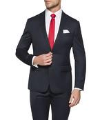 Slim Fit Suit Jackets Dark Navy