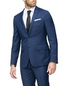 Slim Fit Suit Jacket Ink Check