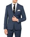 Super Slim Fit Suit Jacket Blue