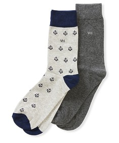 Socks 2pk Anchors