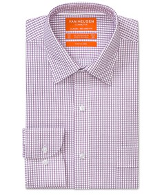 Classic Relaxed Fit Shirt Grape Check