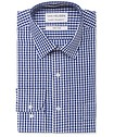 Classic Relaxed Fit Shirt Blue Med Check