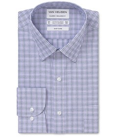 Classic Relaxed Fit Shirt Multi Hue Glen Check