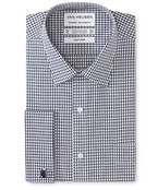 Classic Relaxed Fit Shirt Gingham French Cuff