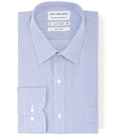 Classic Relaxed Fit Shirt Stripe Print