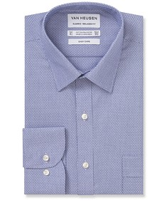 Classic Relaxed Fit Shirt Two Tone Dobby