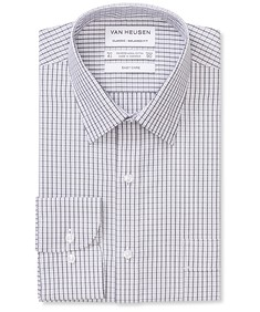 Classic Relaxed Fit Shirt Two Colour Check