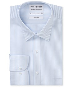 Classic Relaxed Fit Shirt Oxford Stripe