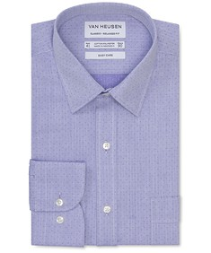Classic Relaxed Fit Shirt Purple Haze Dobby Spot
