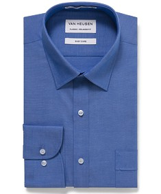 Classic Relaxed Fit Shirt Dobby Nailhead Check