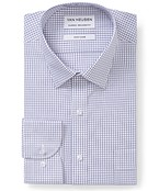 Classic Relaxed Fit Shirt Pink Purple Check