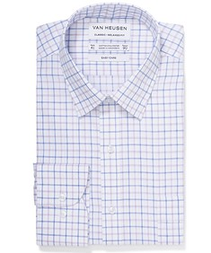 Classic Relaxed Fit Shirt Multi Layered Check