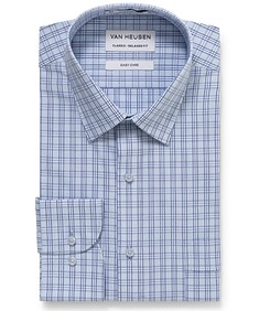 Classic Relaxed Fit Shirt Glen Check