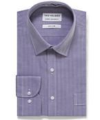 Classic Relaxed Fit Shirt Herringbone Stripe