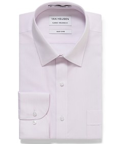 Classic Relaxed Fit Shirt Fine Vertical Stripe