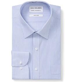 Classic Relaxed Fit Shirt Blue Medium Stripe
