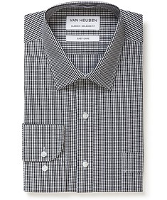 Classic Relaxed Fit Shirt Black Check