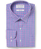 Men's Classic Fit Shirt Pink Check