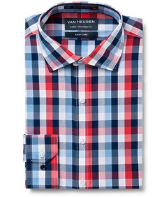Euro Tailored Fit Shirt Multi Check