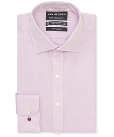 Euro Tailored Fit Shirt Light Lilac Birdseye