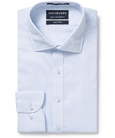 Men's Euro Fit Shirt Blue Mini Twill
