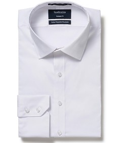 Men's Euro Fit Shirt White Nailhead