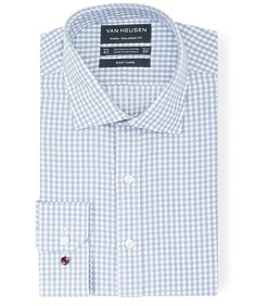 Euro Tailored Fit Shirt Fine Line Gingham