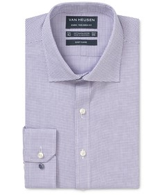 Euro Tailored Fit Shirt Purple Haze Hash Tag Dobby