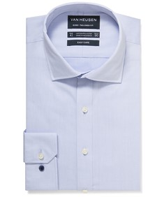 Euro Tailored Fit Shirt Blue Solid