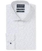 Euro Tailored Fit Shirt Crosses Print