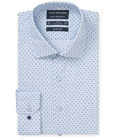 Euro Tailored Fit Shirt Spot Print
