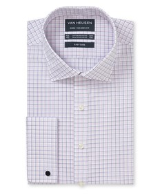 Euro Tailored Fit Shirt 3 Colour Check