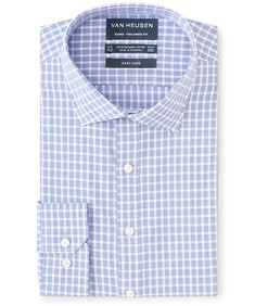 Euro Tailored Fit Shirt Pink Houndstooth