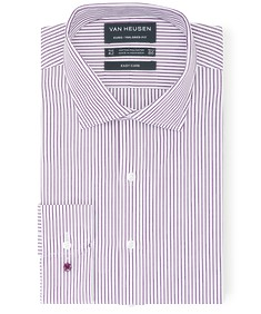 Euro Tailored Fit Shirt Vertical Candy Stripe
