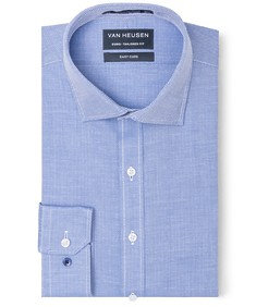 Euro Tailored Fit Shirt Herringbone Design