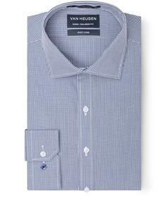 Euro Tailored Fit Shirt Small Check