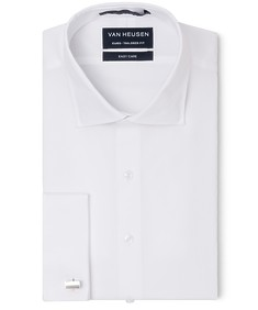 Euro Tailored Fit Shirt Solid White